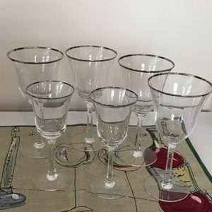 Bundle & Save! Lenox Maywood glass 4 water 2 wine